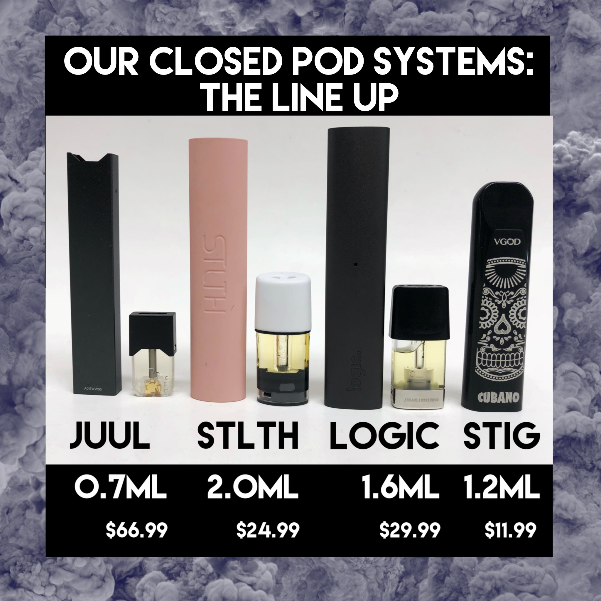 STLTH Vape is one of the newest challengers in the pod space