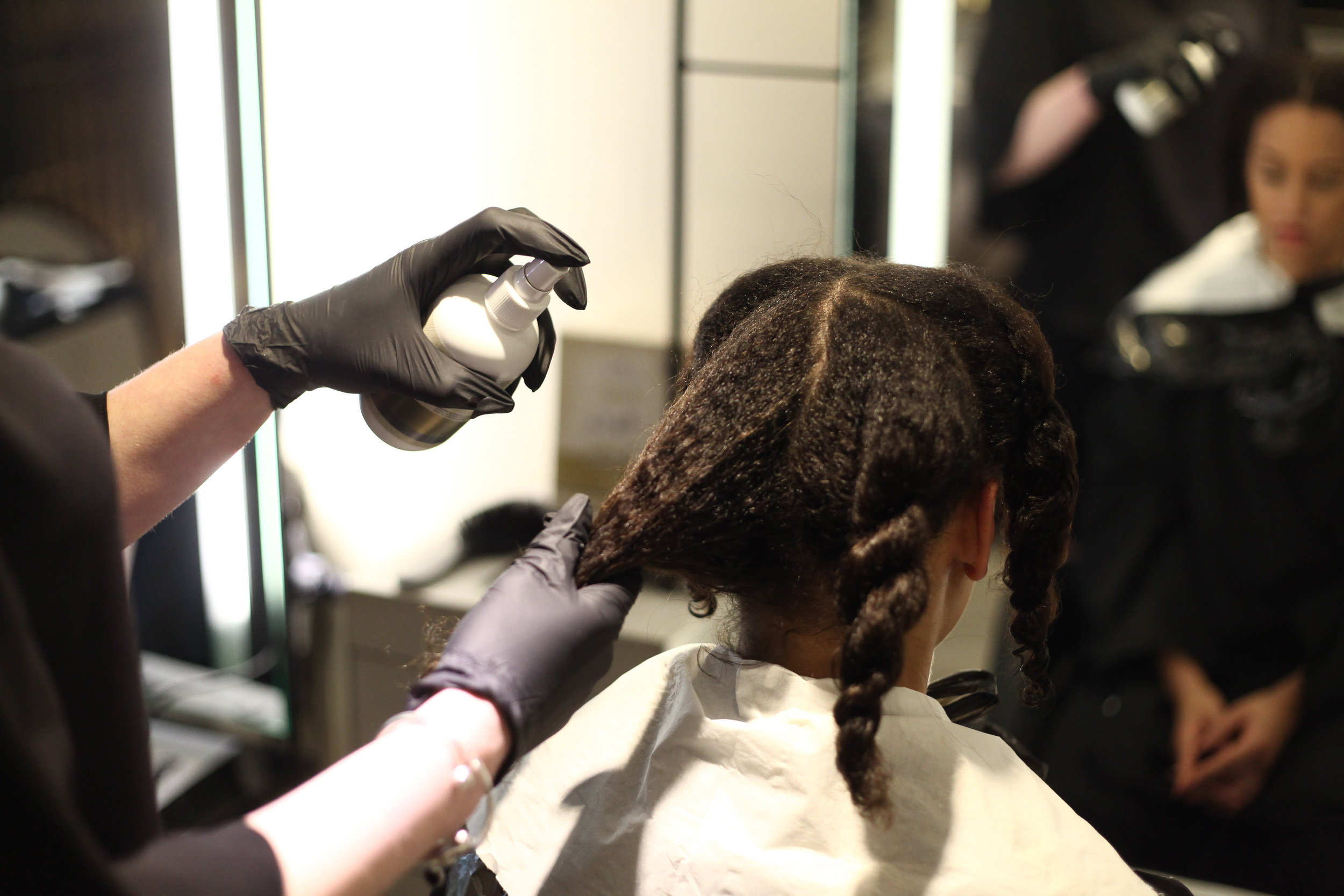 - Texture Release™ Releasing Lotion was thoroughly applied in small equal sections