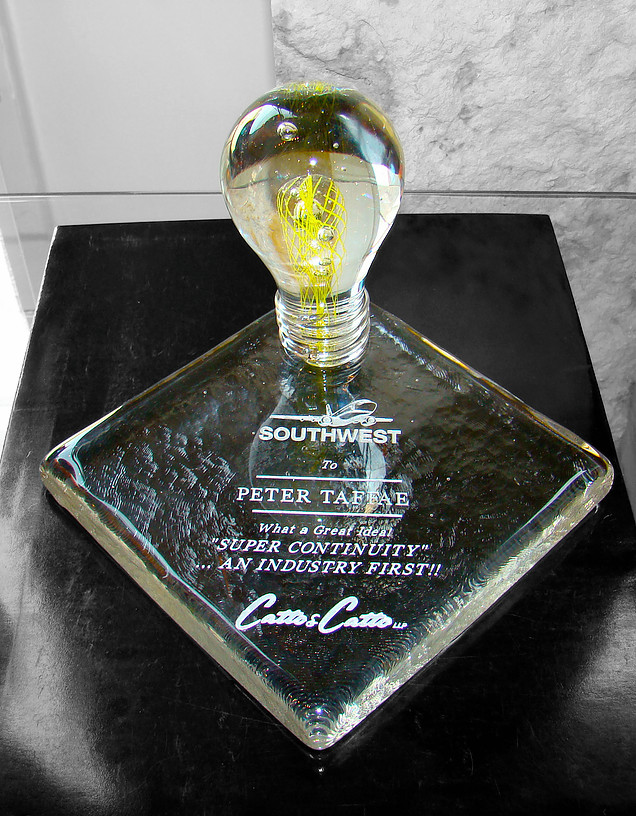 Sculptural Award with Engraving