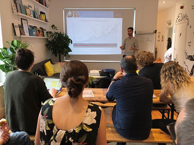 Thanks to Rabble member Ross for hosting our mid-week meet-up workshop on pensions & finance over lunch today.  As something freelancers don't tend to think to much about - Ross' help with financial planning or studio members is always super helpful and insightful!  Thank you! 🙌 💰
