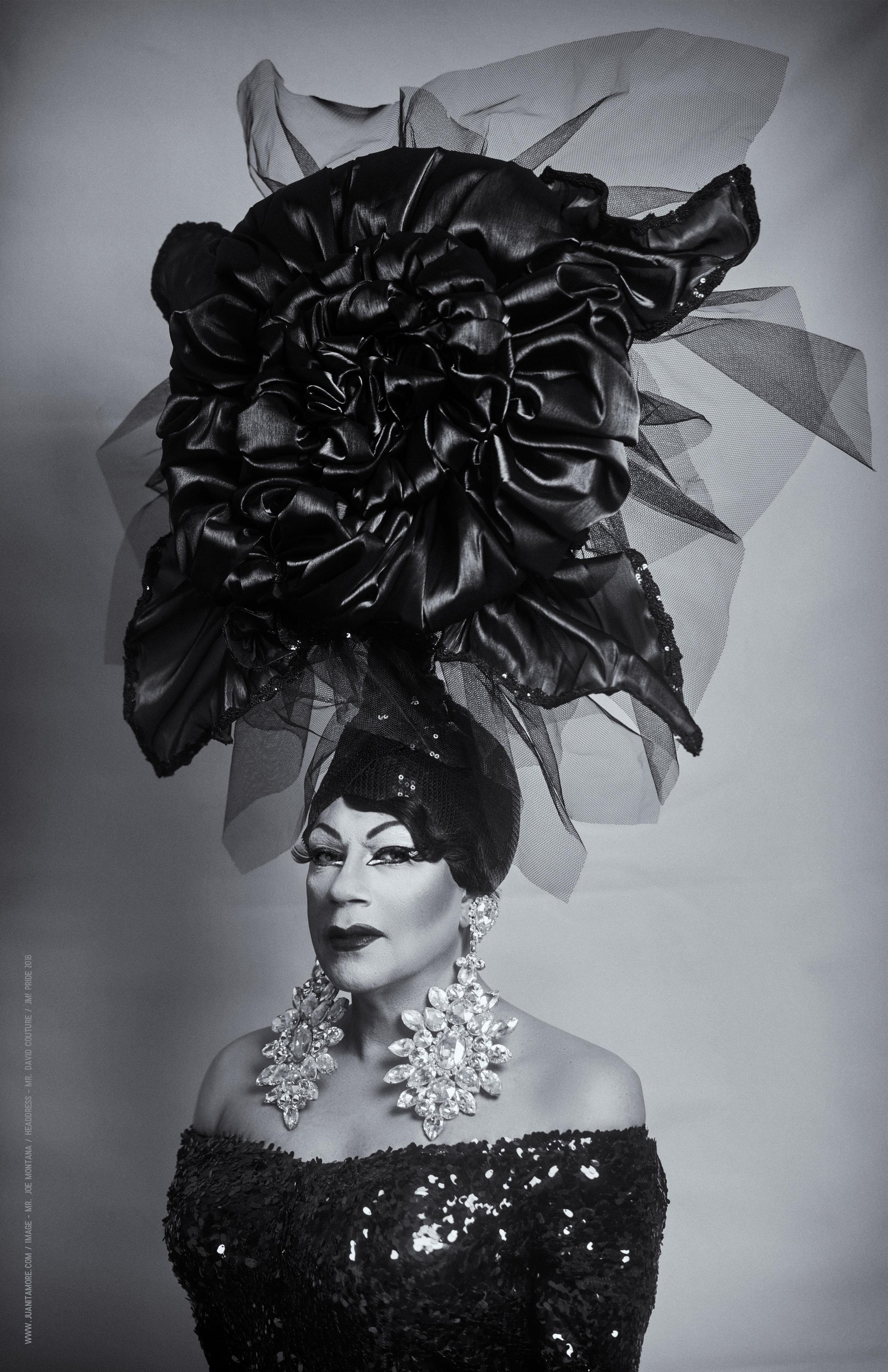 Image - Mr. Joe Montana / Headdress - Mr. David Couture
