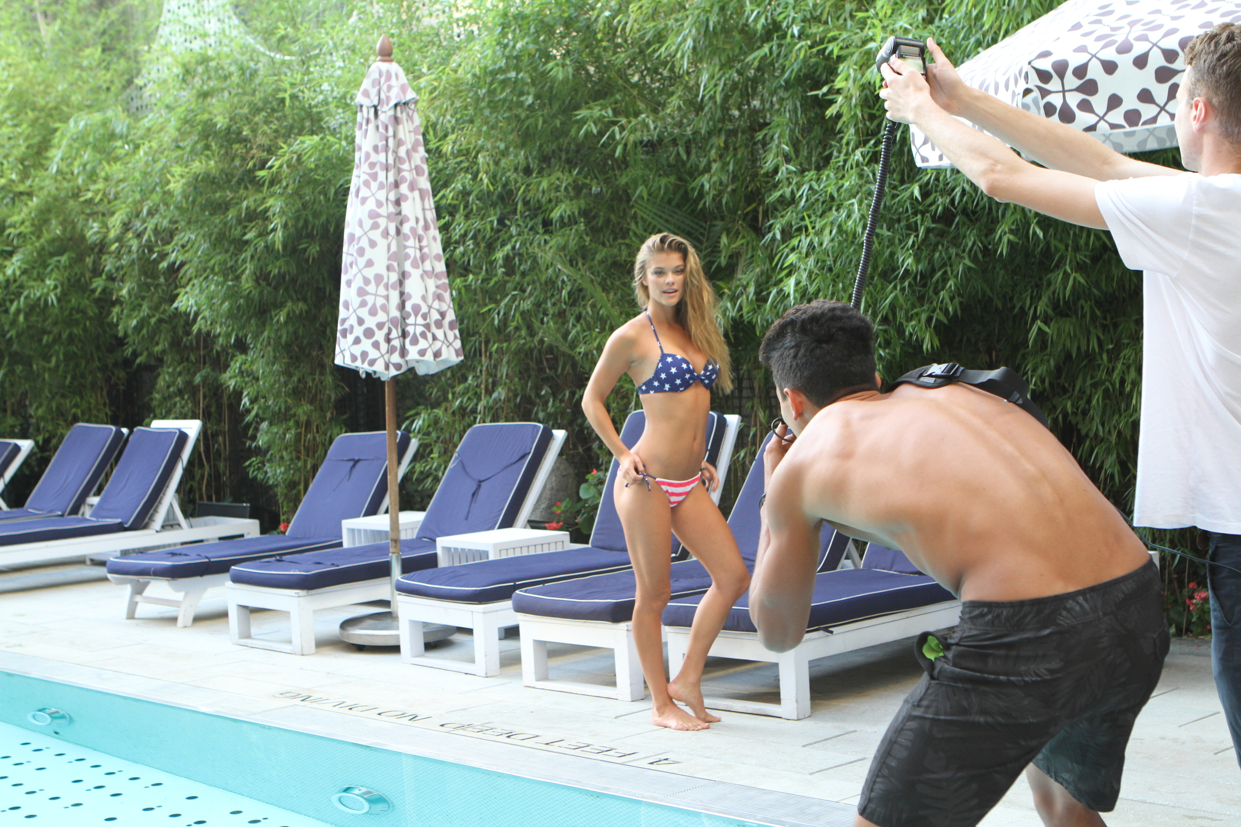 Adore Me Behind The Scenes with Nina Agdal 3
