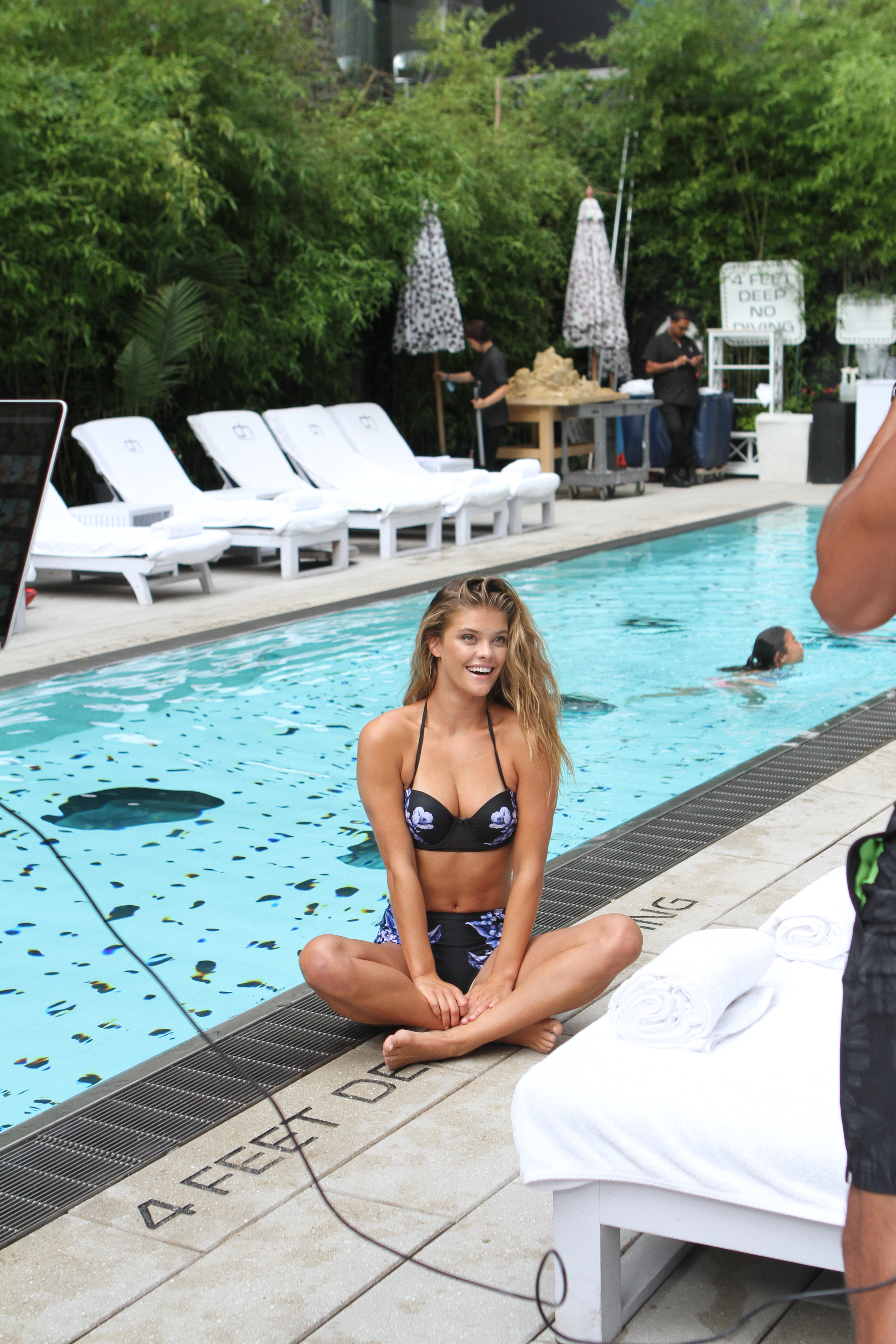 Adore Me Behind The Scenes with Nina Agdal 15
