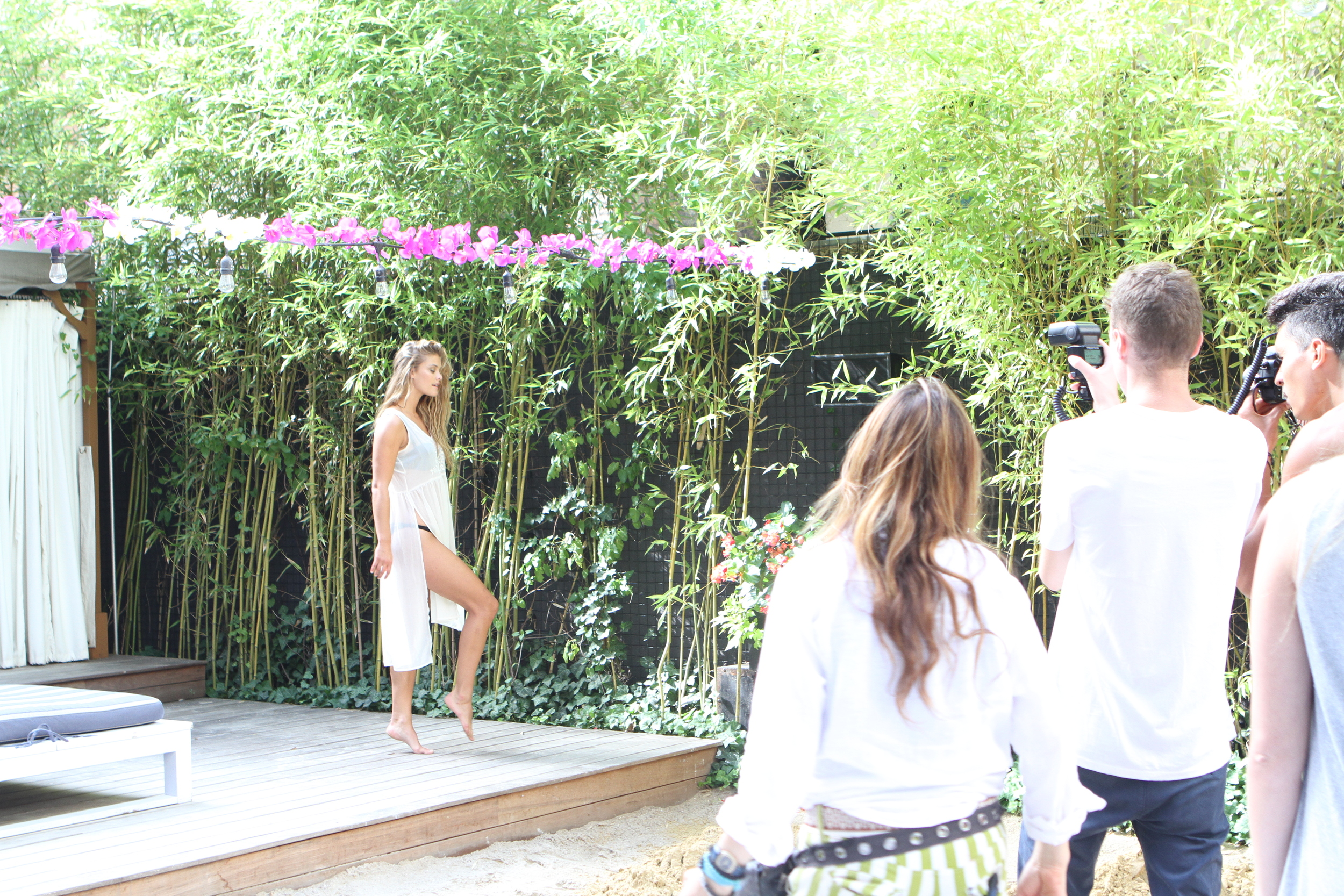 Adore Me Behind The Scenes with Nina Agdal 18