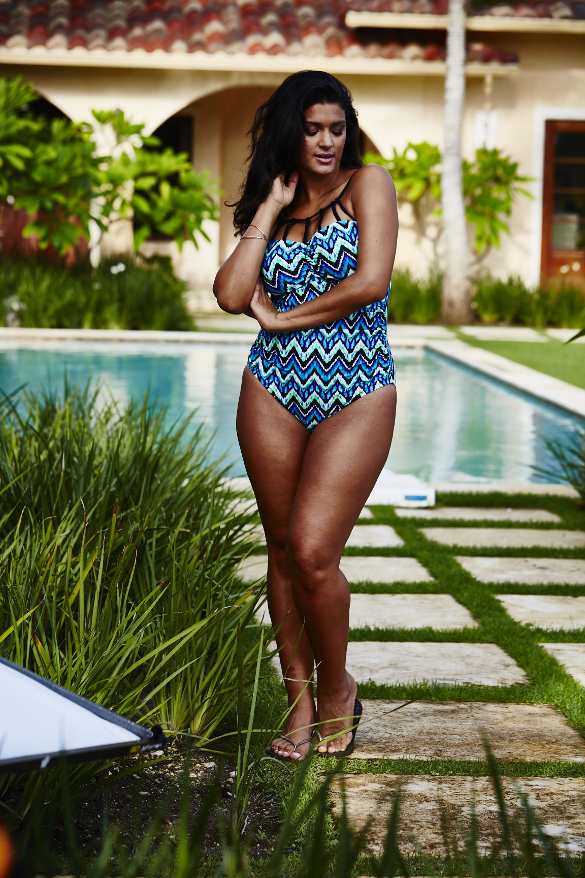 Adore Me Behind The Scenes Plus Size Swim 64