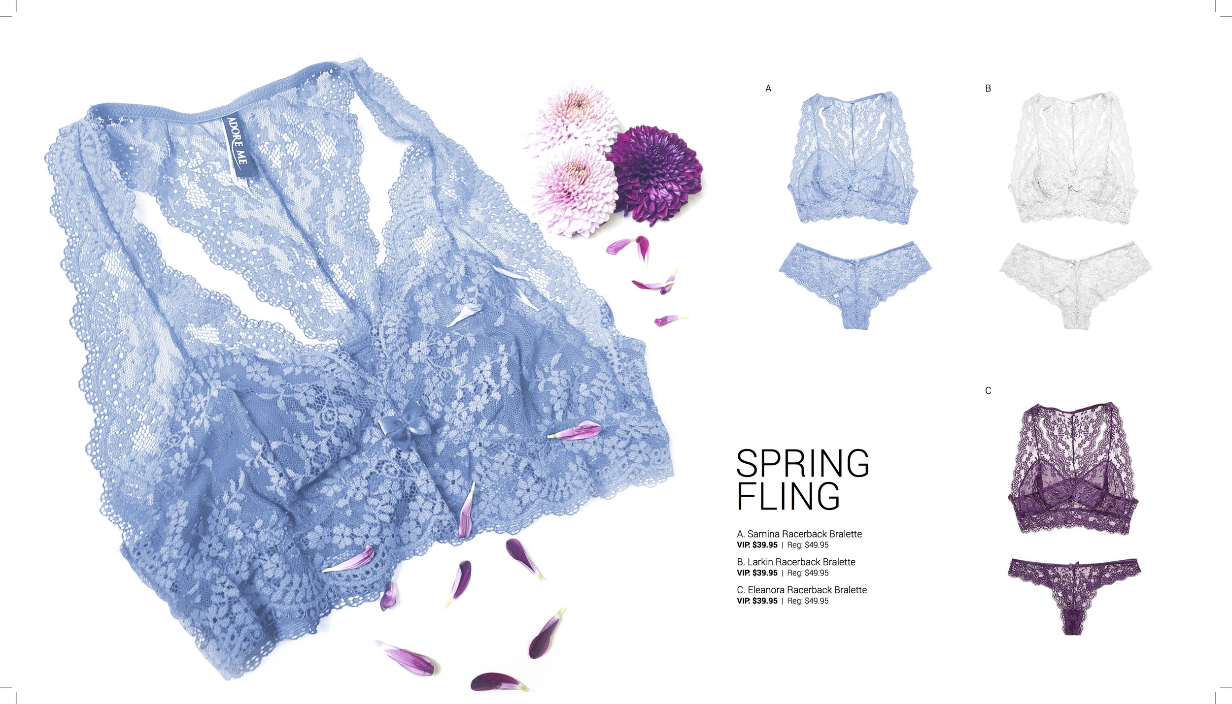 Adore Me Spring 2016 Spring Fling