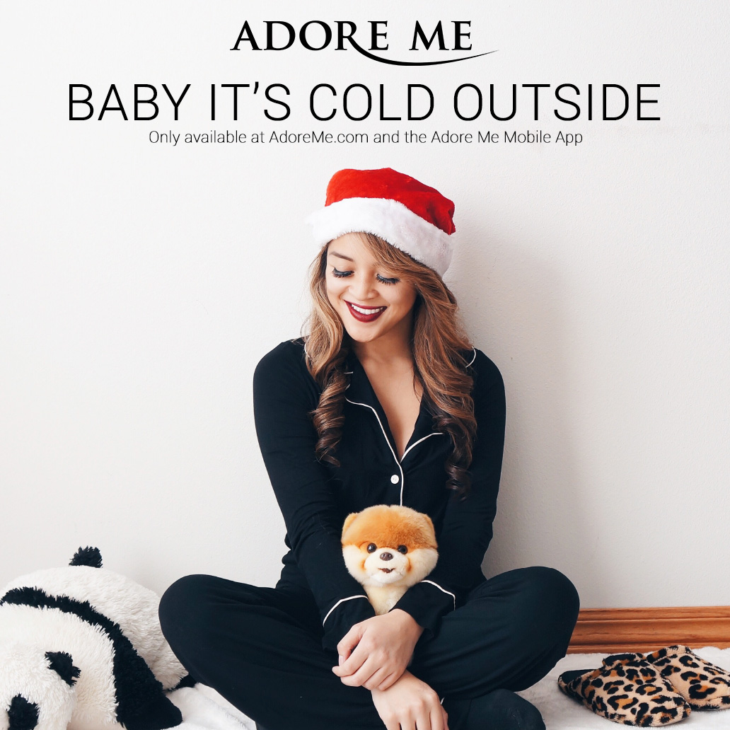 Adore Me Baby It's Cold Outside