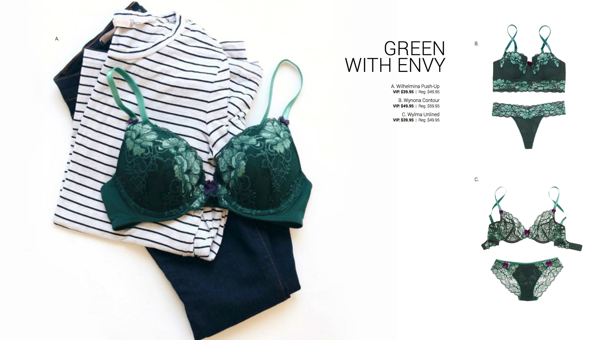 Adore Me Fall 2016 Collection Green With Envy