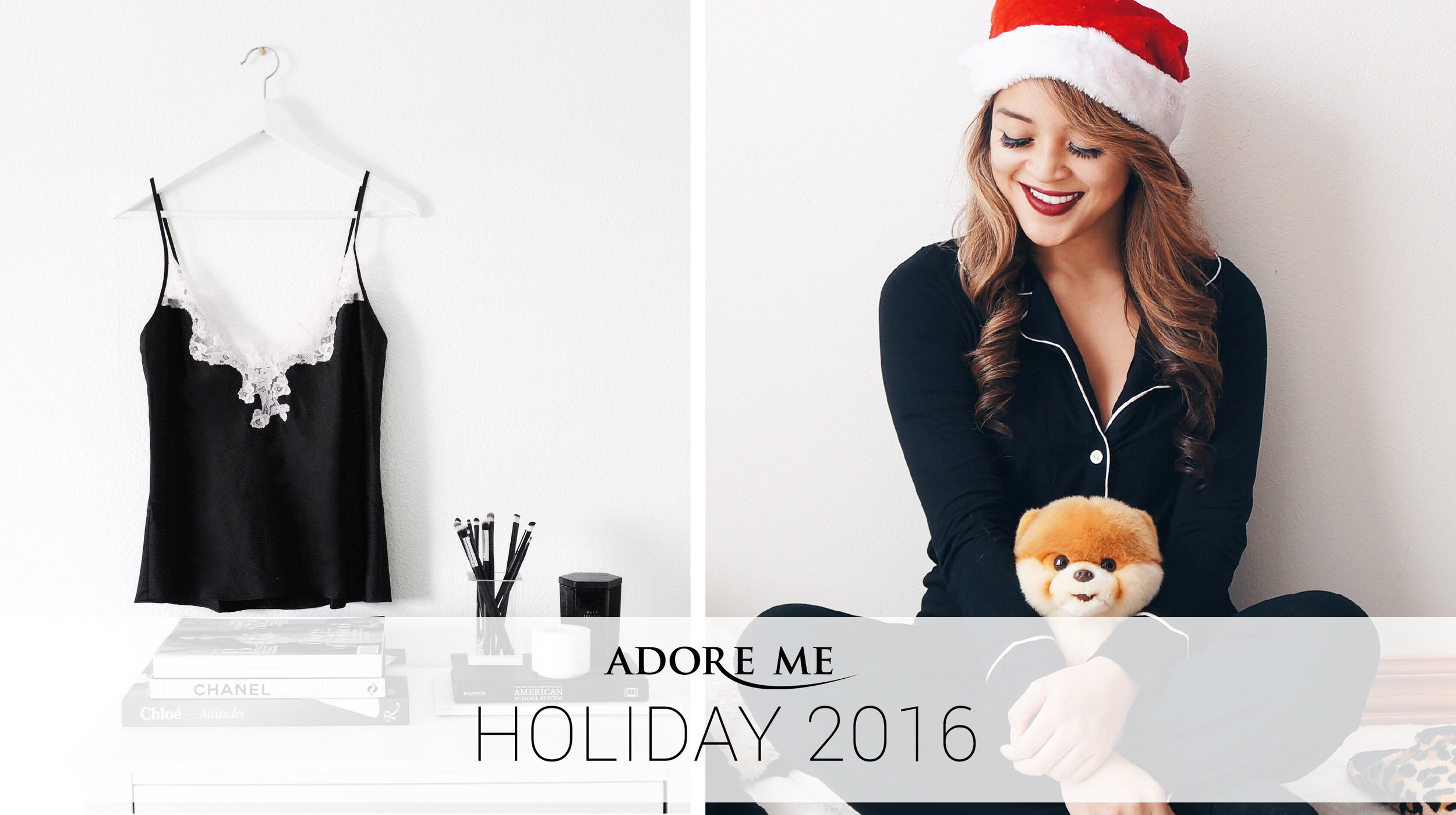 Adore Me 2016 Holiday Collection
