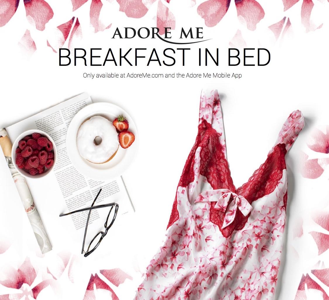 Adore Me Trend: Breakfast in Bed