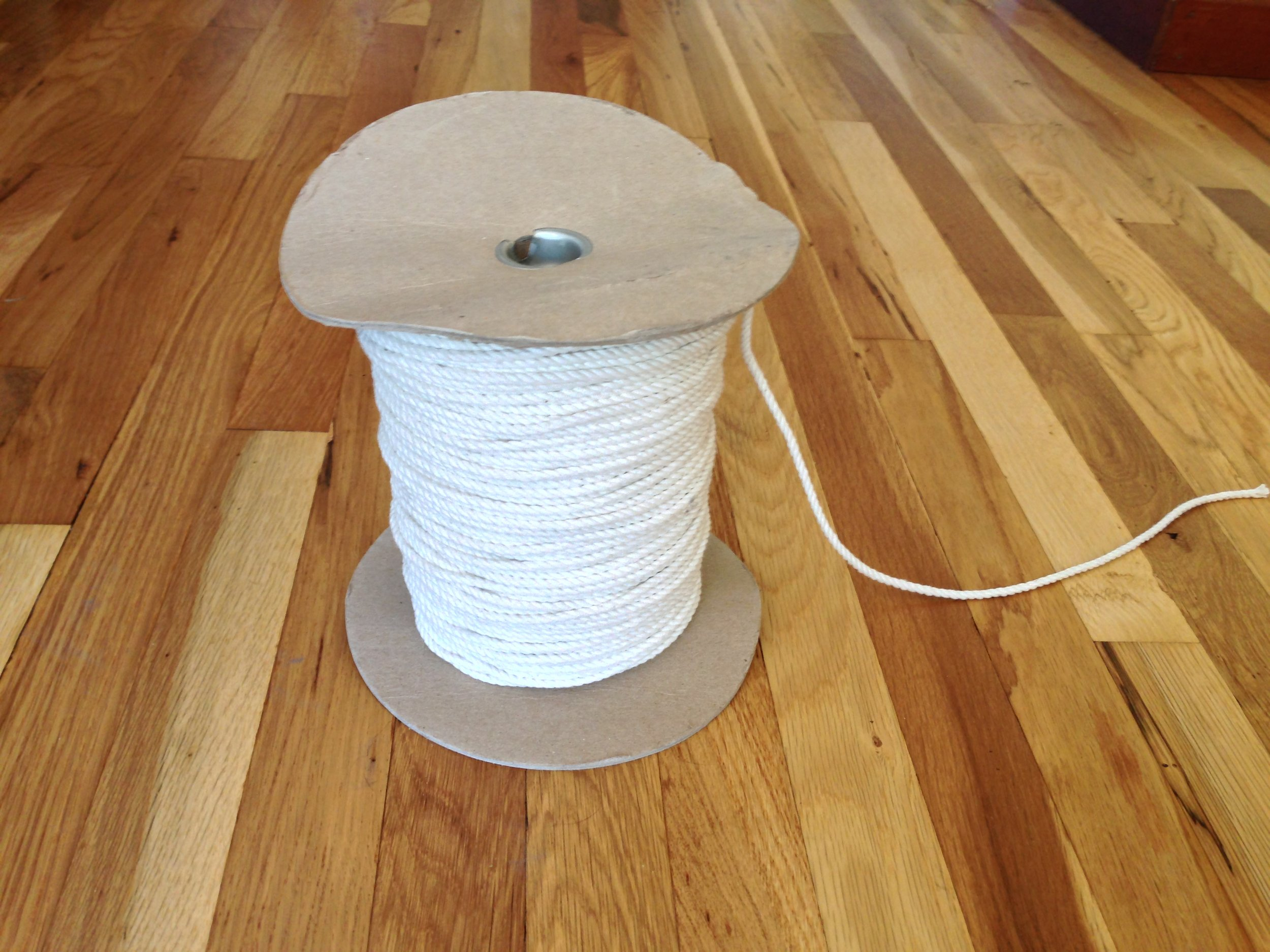 """1/8"""" Twisted Cotton Rope"""