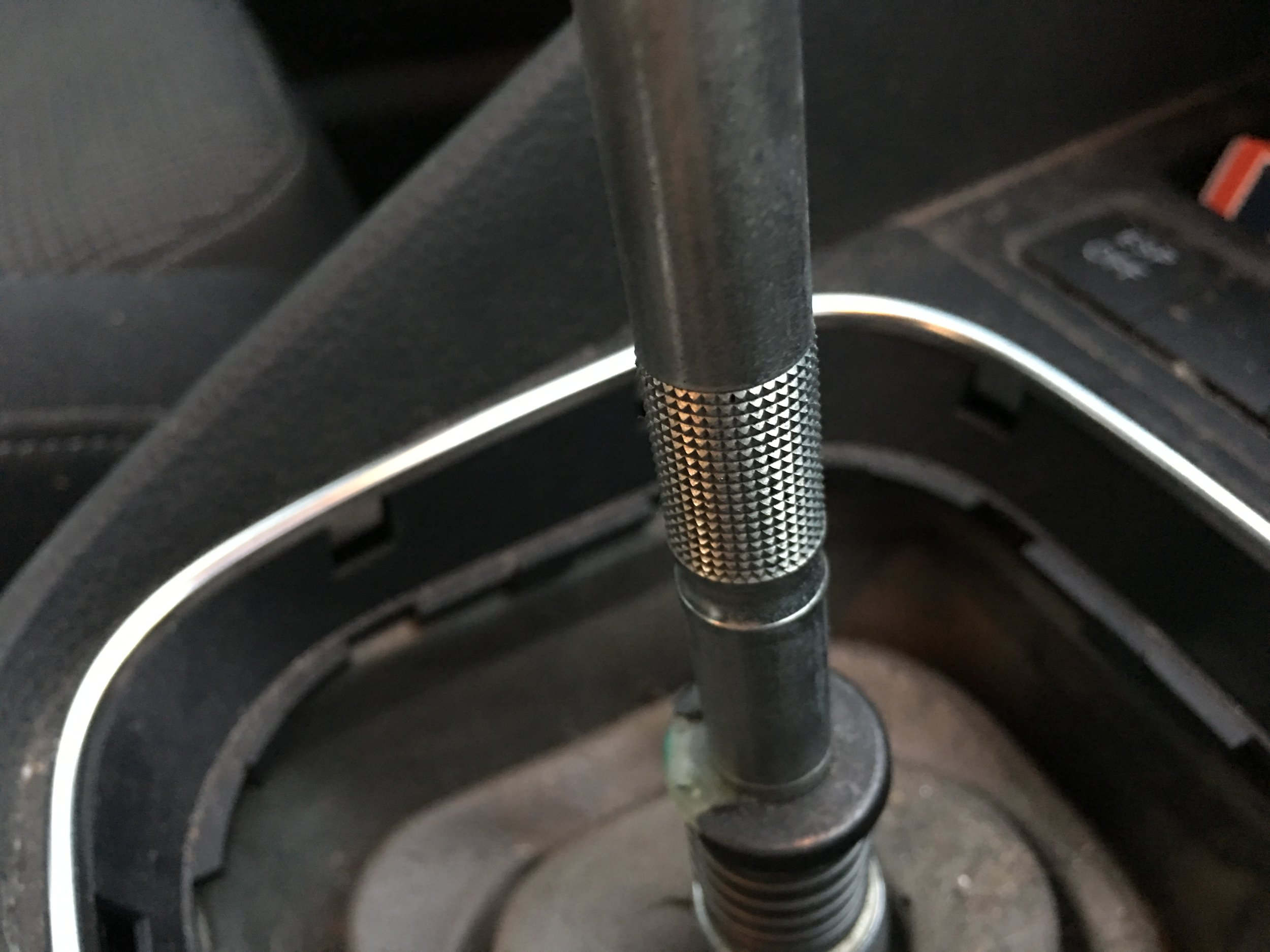 Knurled portion of my gear shifter.