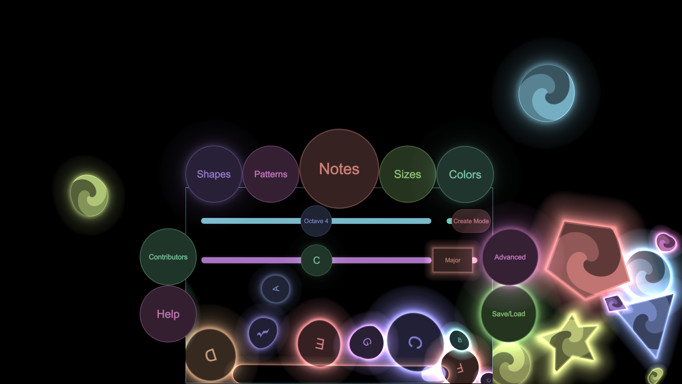 The UI components are as bouncy and fun to play with as the rest of Bounce.
