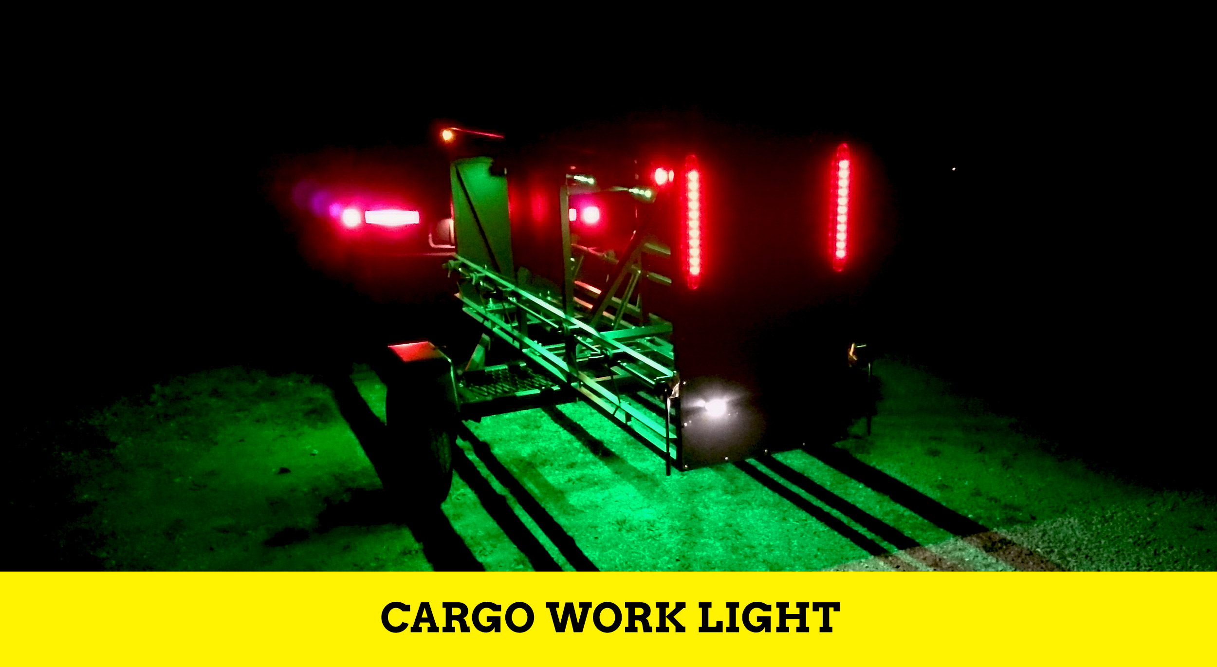 Huckwagons Mountain Bike Shuttle Trailer Cargo work lightCargo work light cargo work light