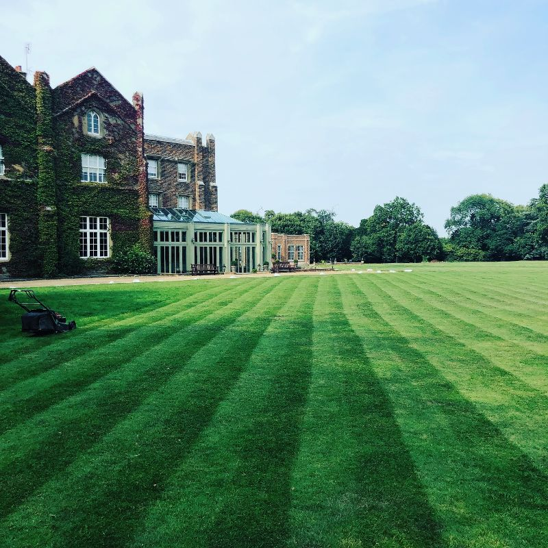 Offley Place House, The Conservatory and The Hester Ballroom in the distance set in our immaculate 27 acres