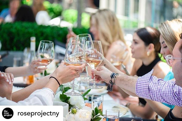 We did a little shindig in NYC with Rose, lobster rolls and @coach and, well, we can stop there. •  @roseprojectny Rosé + lobster rolls for the win. @coach  Photo: @zachlikewhoa