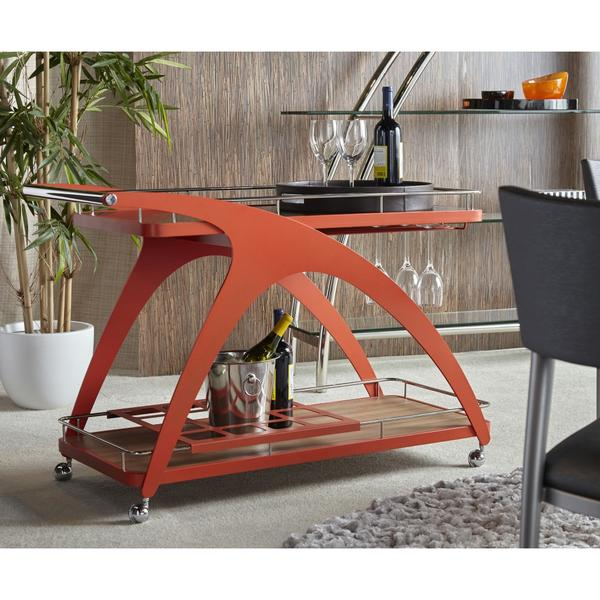 The Molino Serving Cart by Elite Modern