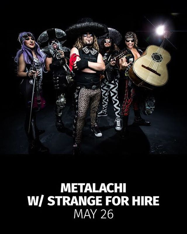 Our only OKC appearance for 2019! Catch us with @metalachi next Sunday at @towertheatreokc!  #sideshow #strangeforhire