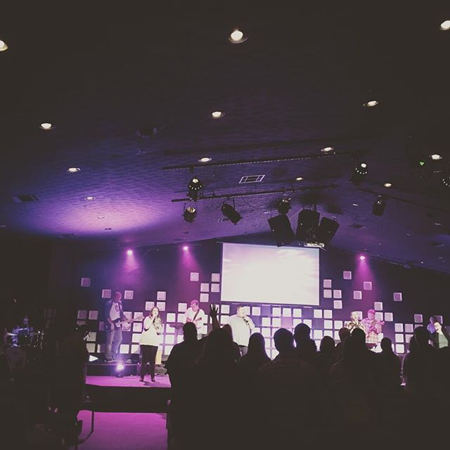 I have the honor of rolling in a new decade worshiping our Creator with my church family. #iam30 #iammomentum