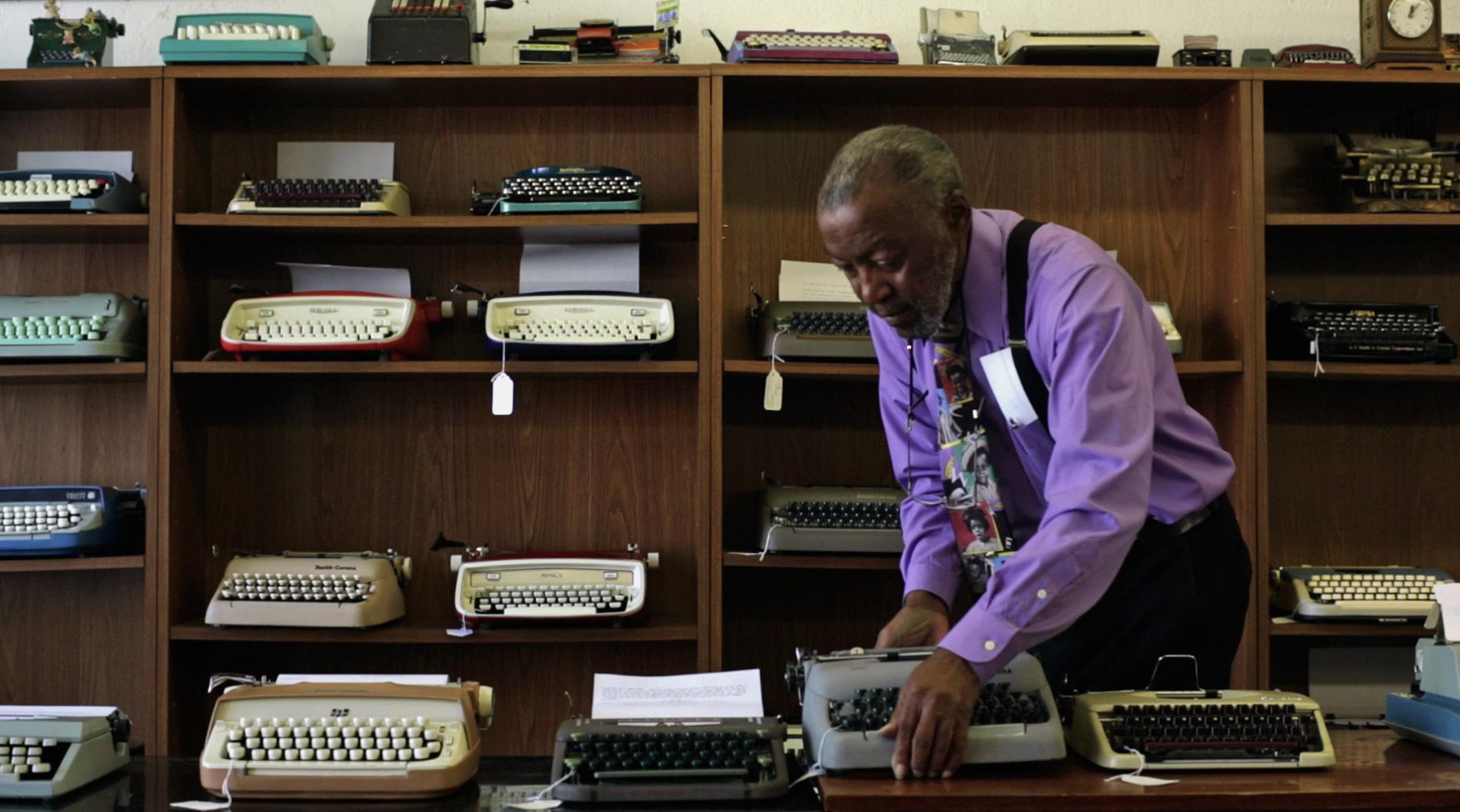 Herb Permillion at California Typewriter