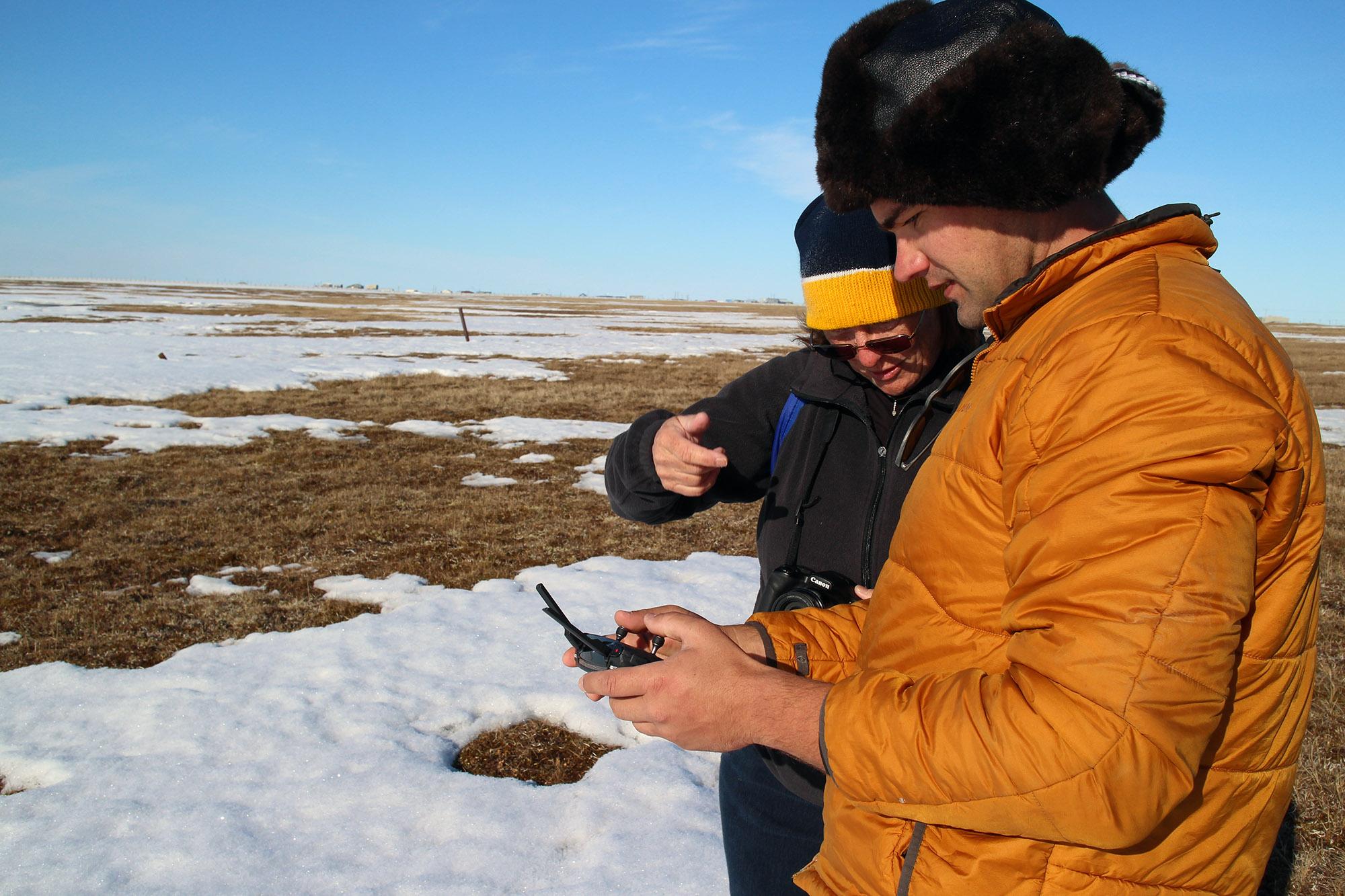 Arctic test site