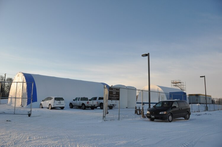 The Sea-ice Environmental Research Facility (SERF) in Winnipeg, Canada. Photo credit: Dr. Fei Wang.