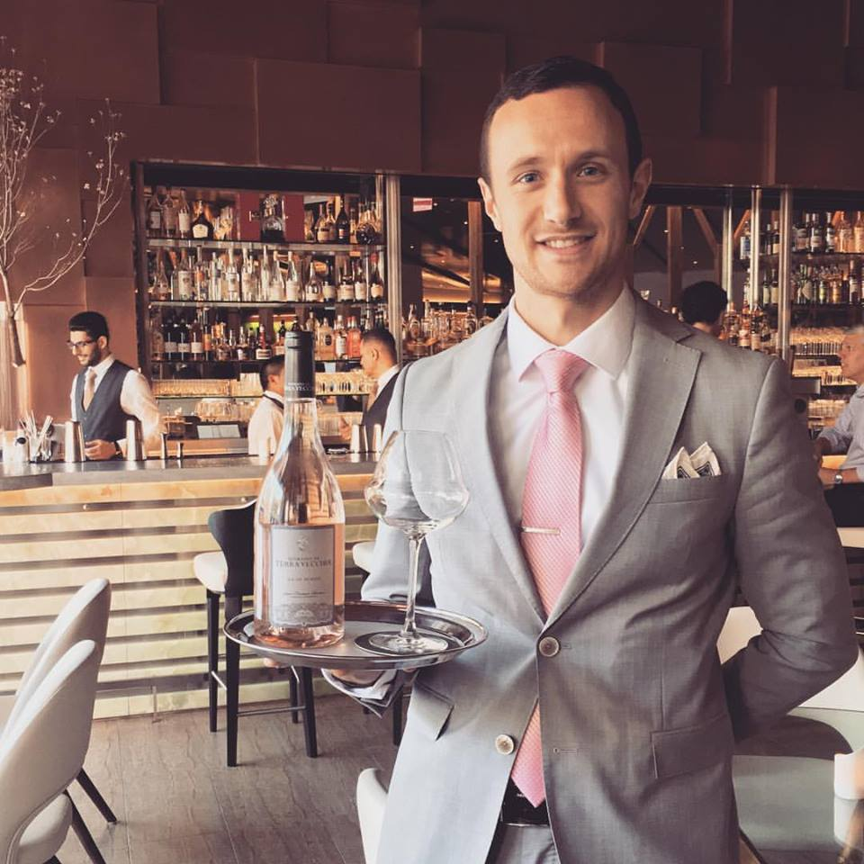 Damien Biscarrat,  Wine Consultant