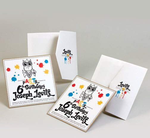 owl theme birthday invitation.jpg
