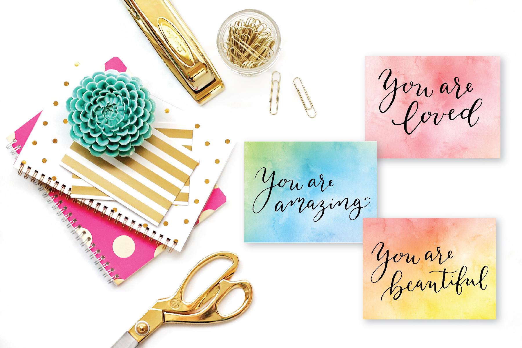 norecards for charity watercolor sayings.jpg