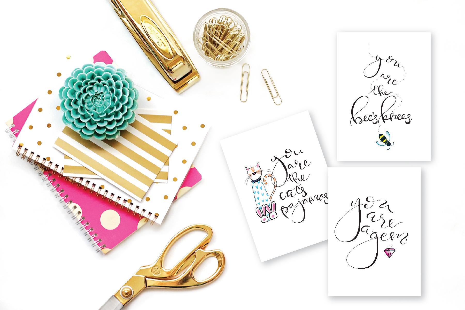 notecards for charity handlettered.jpg