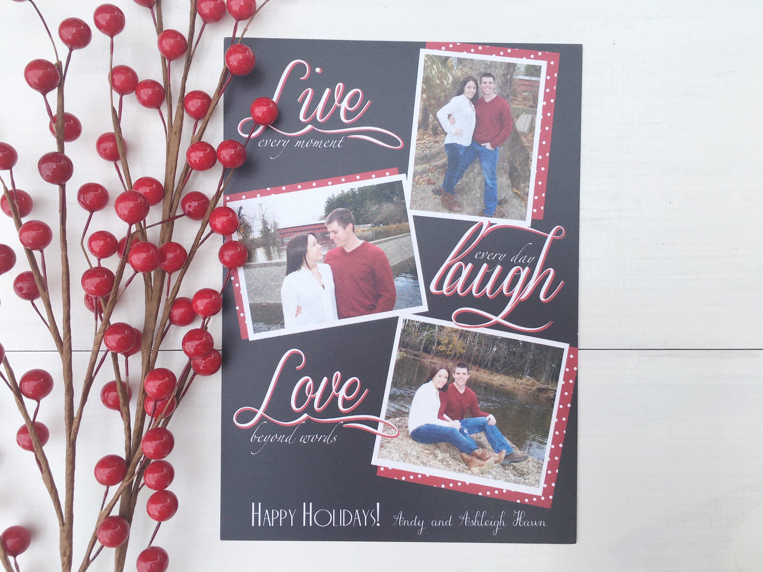 jsd live laugh love black christmas card.jpg