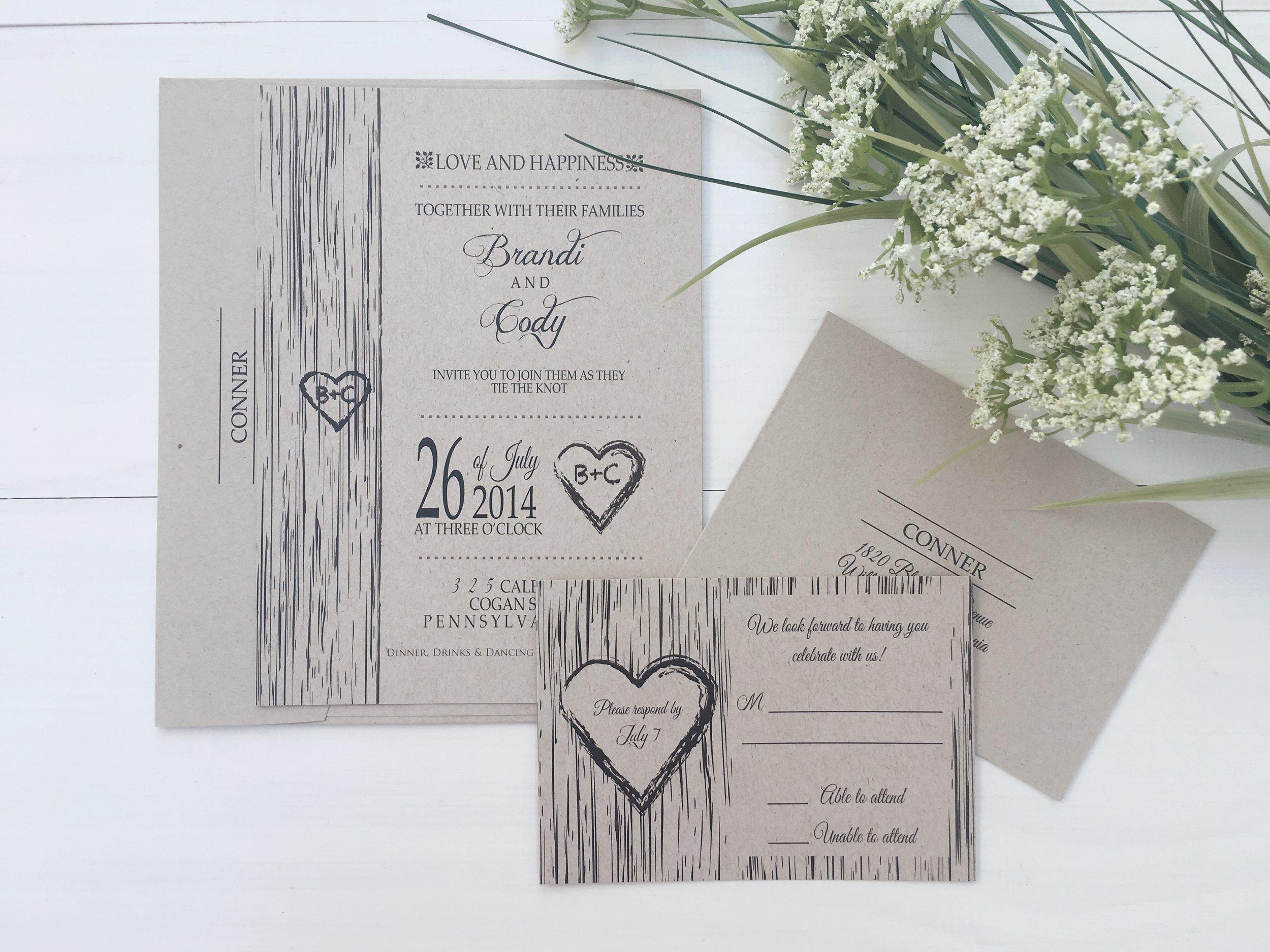 jsd kraft rustic tree simple wedding invitation.jpg