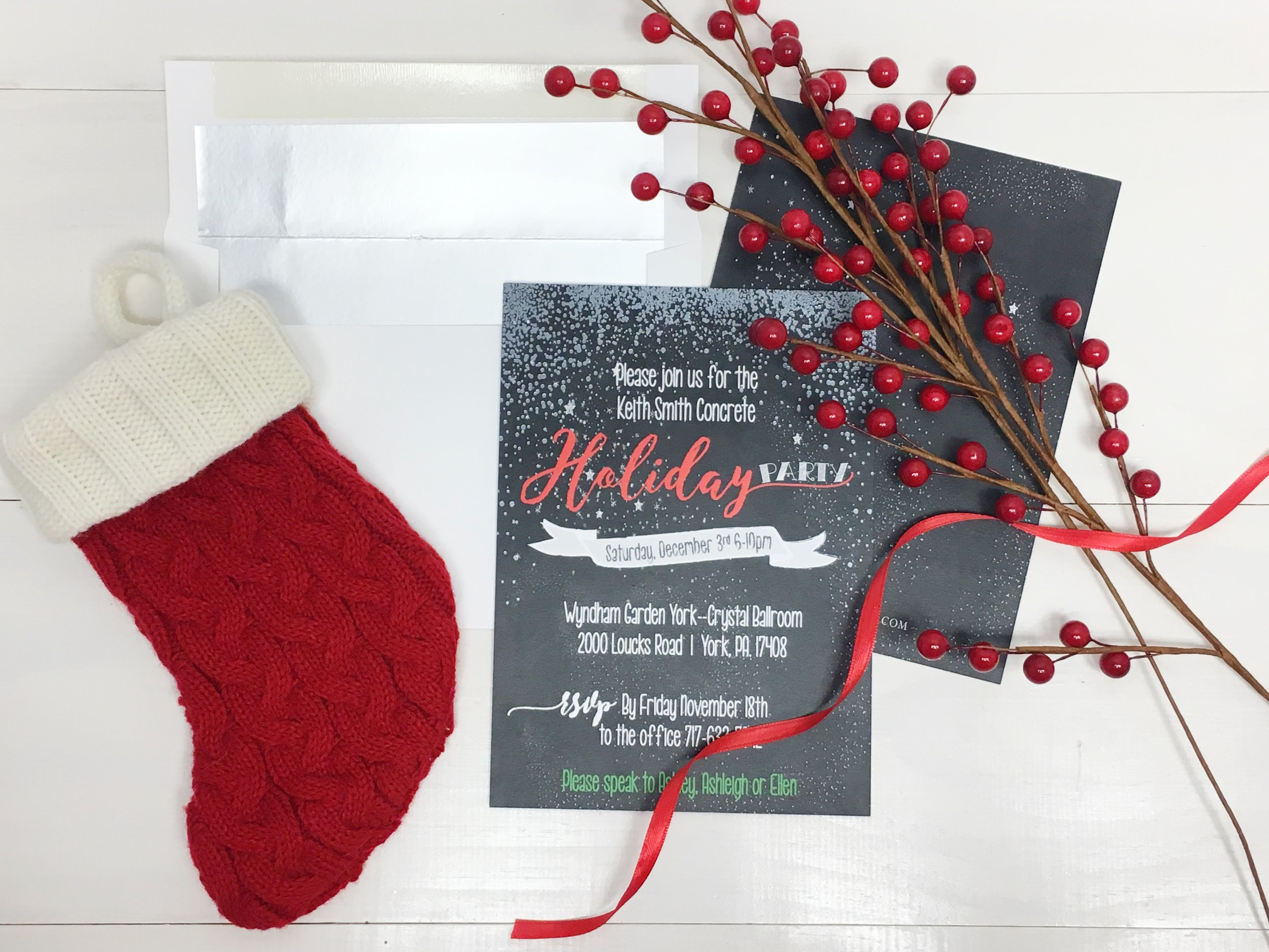 KDS Holiday party chalkboard invitation foil press 2.jpg