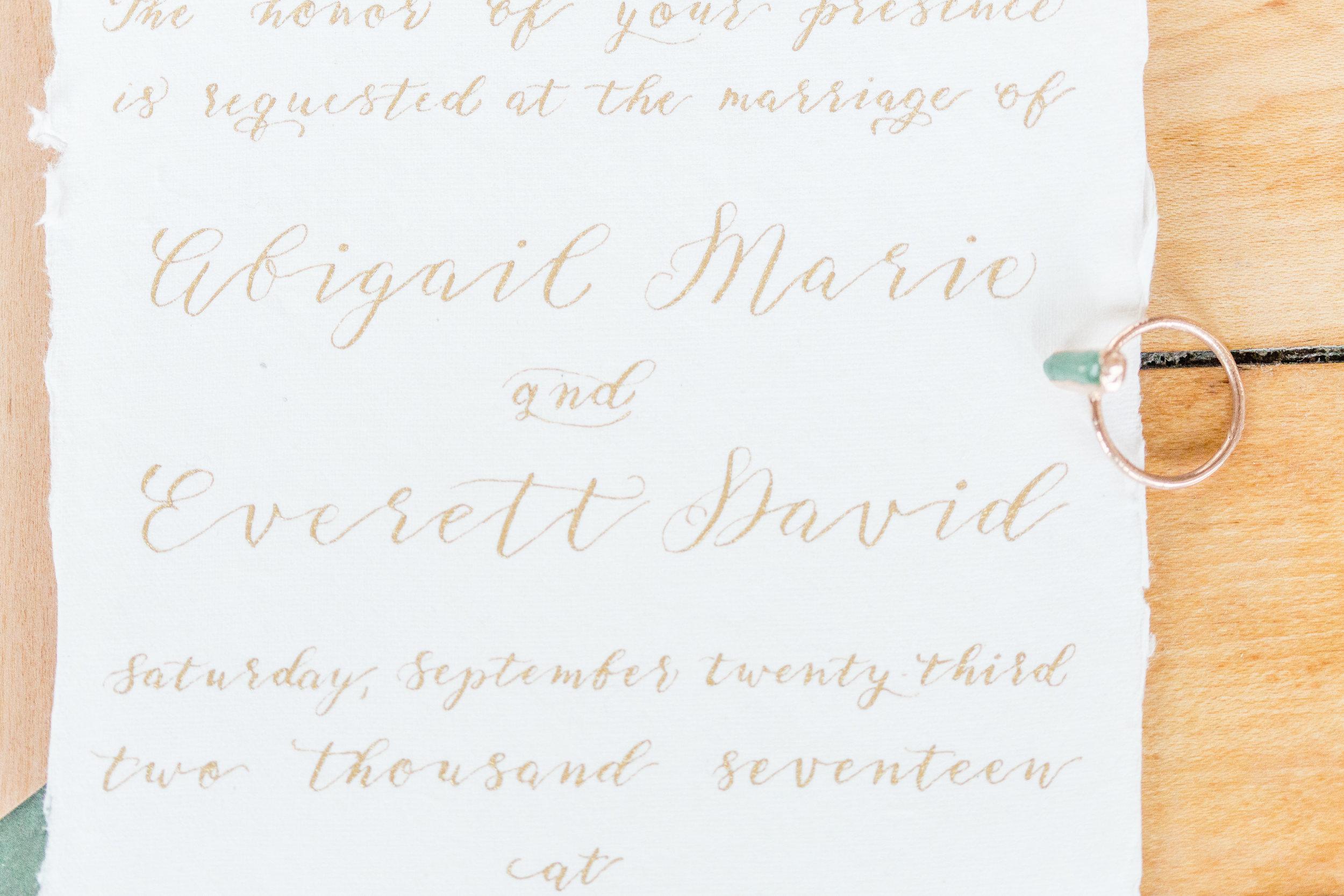 Central PA, York PA, JesSmith Designs, custom, wedding, invitations, bridal, announcements, save the date, birth, baby, motherhood, hanover, calligraphy, handlettering_045.jpg