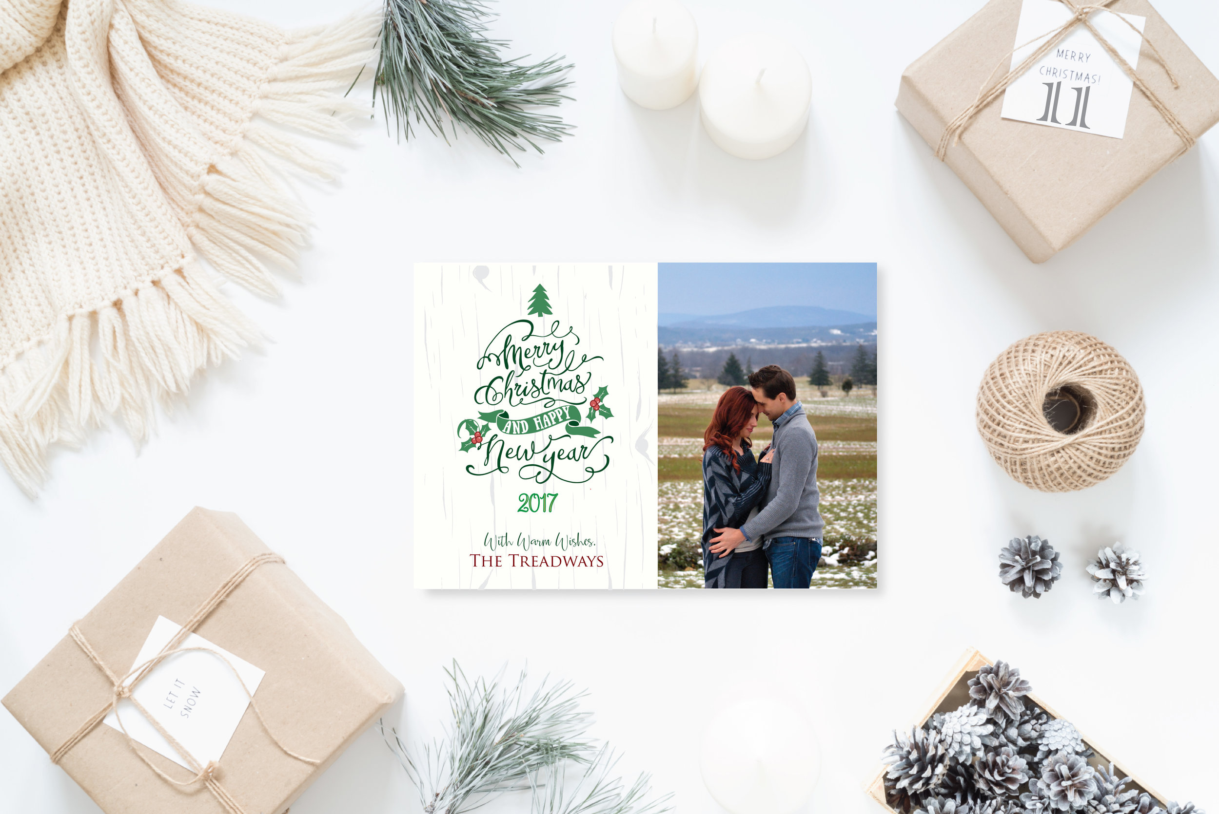 11- Styled Christmas Cards Holiday Cards 2017 2_Birch Merry Christmas.jpg