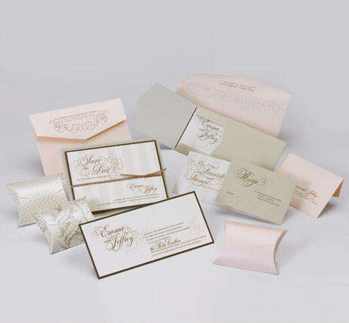 jsd-e blush pink champagne script flourish elegant wedding Central PA, York PA, JesSmith Designs, custom, wedding, invitations, bridal, announcements, save the date, baby, hanover, calligraphy, baltimore, wedding invitations, lancaster, gettysburg.jpg