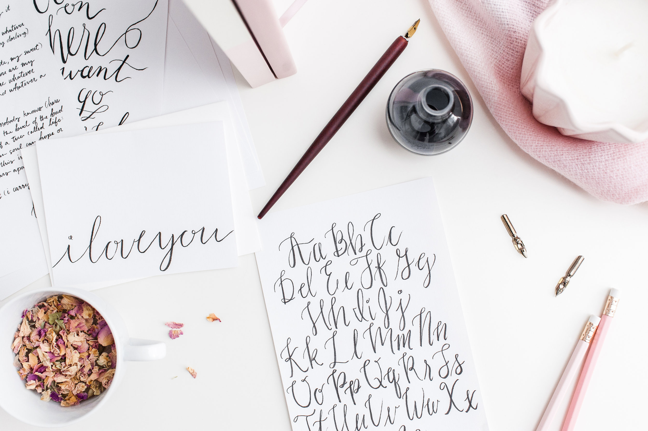 Learn Calligraphy - at a JesSmith Designs Workshop!
