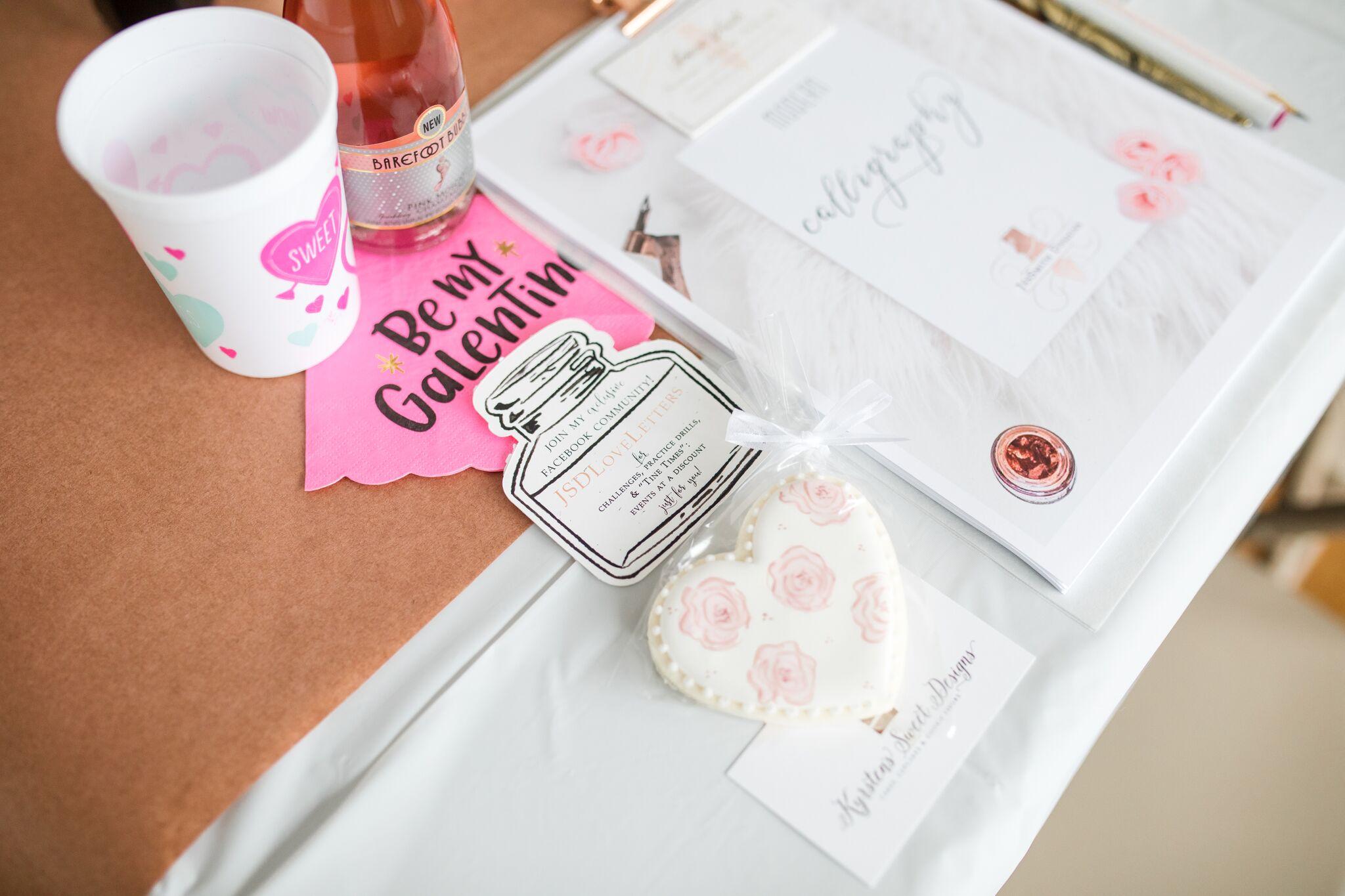 Amanda Souders Photography JesSmith Designs Calligraphy Workshop