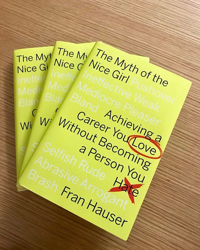SWIB will be hosting a book club discussion on October 22 from 12-1:15 PM - this semester's featured book is The Myth of the Nice Girl by Fran Hauser. The author herself will be joining us to lead the discussion and answer questions. Highly recommend picking up a copy now so that you're ready to discuss in October // Keep an eye out for the event on CampusGroups in the upcoming weeks!  #bookclub #nyuswib