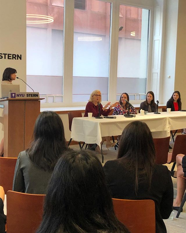 @nyuswib hosted a Women in M&A panel this morning featuring: Jen Muller, Managing Director, Houlihan Lokey (Moderator); Christina Mohr, Managing Director, Citi; Gayle Turk, Partner, Centerview Partners; Anne Hamilton Partner, Perella Weinburg and Nina Naydenova, VP, J.P. Morgan. Thank you to our panelist and for all who attended!!