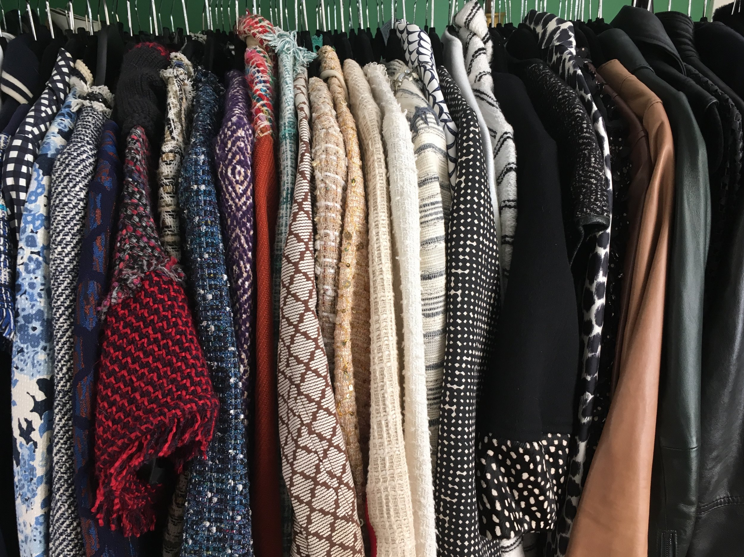 Hi, my name is Kate and I have a tweed jacket problem.