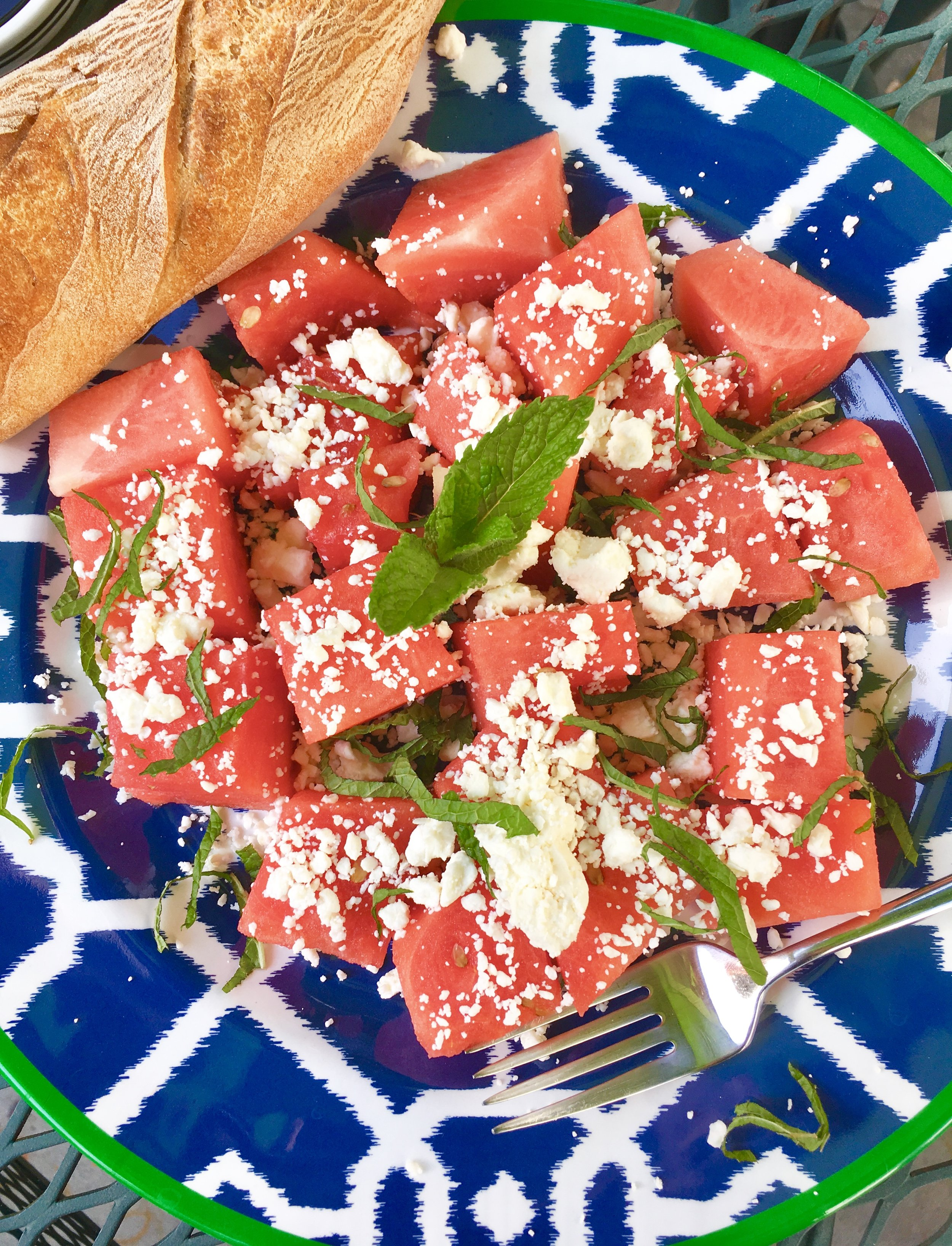 Kate Smith Interiors Garden Watermelon Feta Salad.jpg