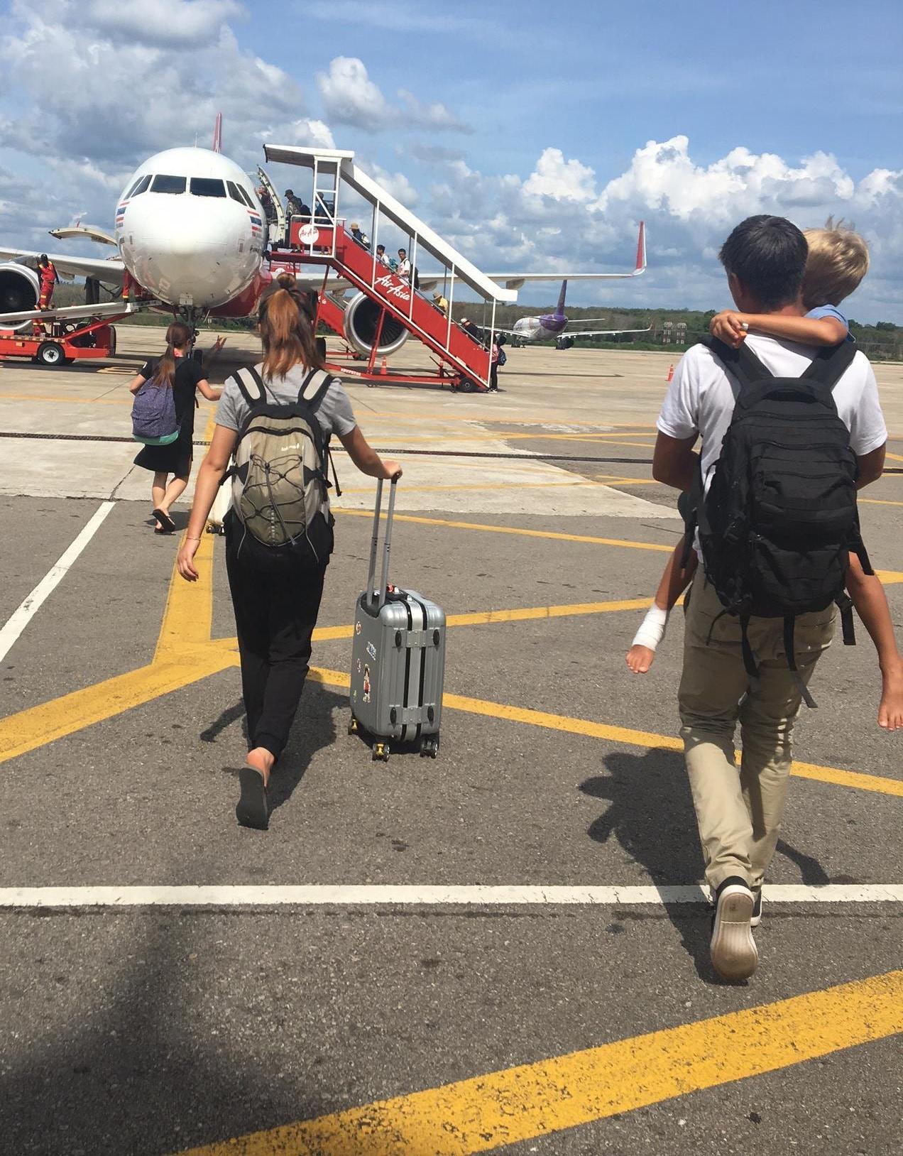 Krabi till Koh Lanta med barn