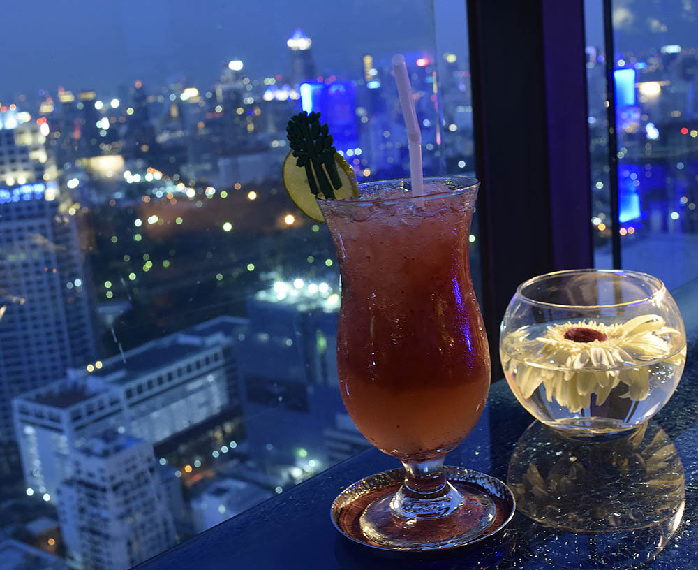 Rooftop i Bangkok är ett måste.