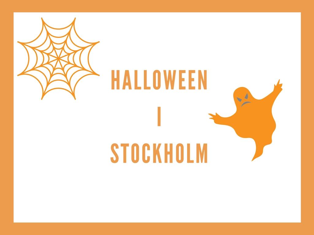 Halloween i Stockholm