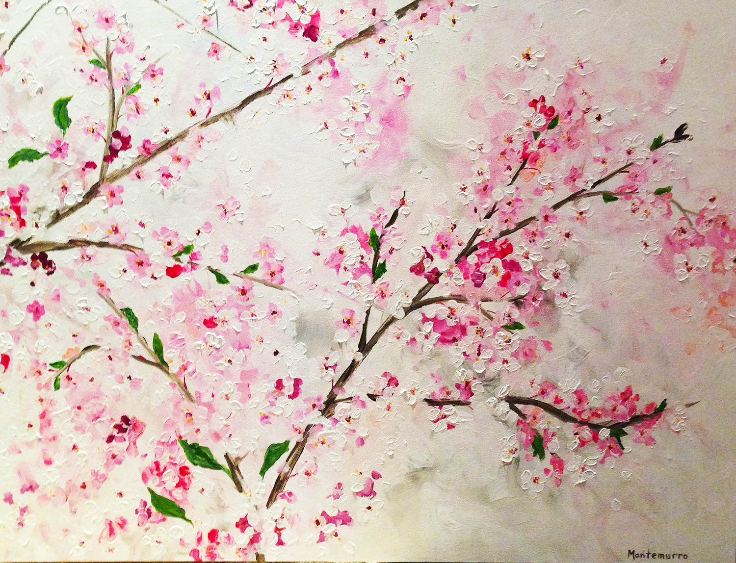 Cherry Blossoms (36 x 48)