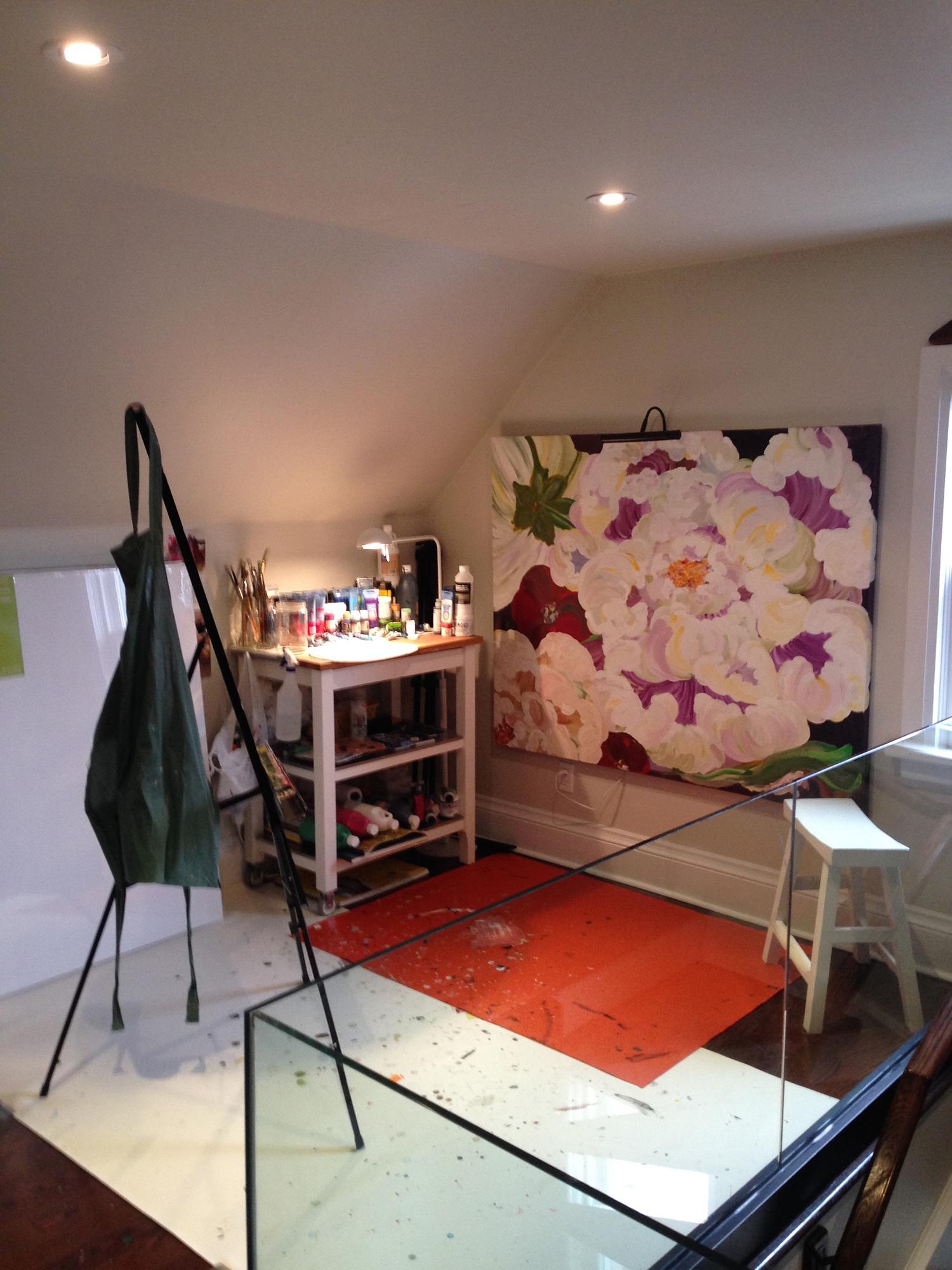 Rebecca Montemurro's Studio