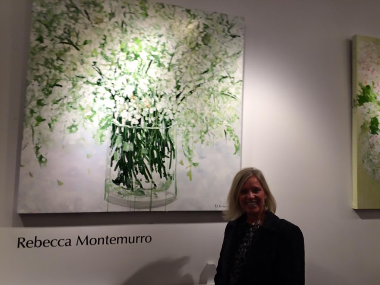 Luminosity painting at Gallery M