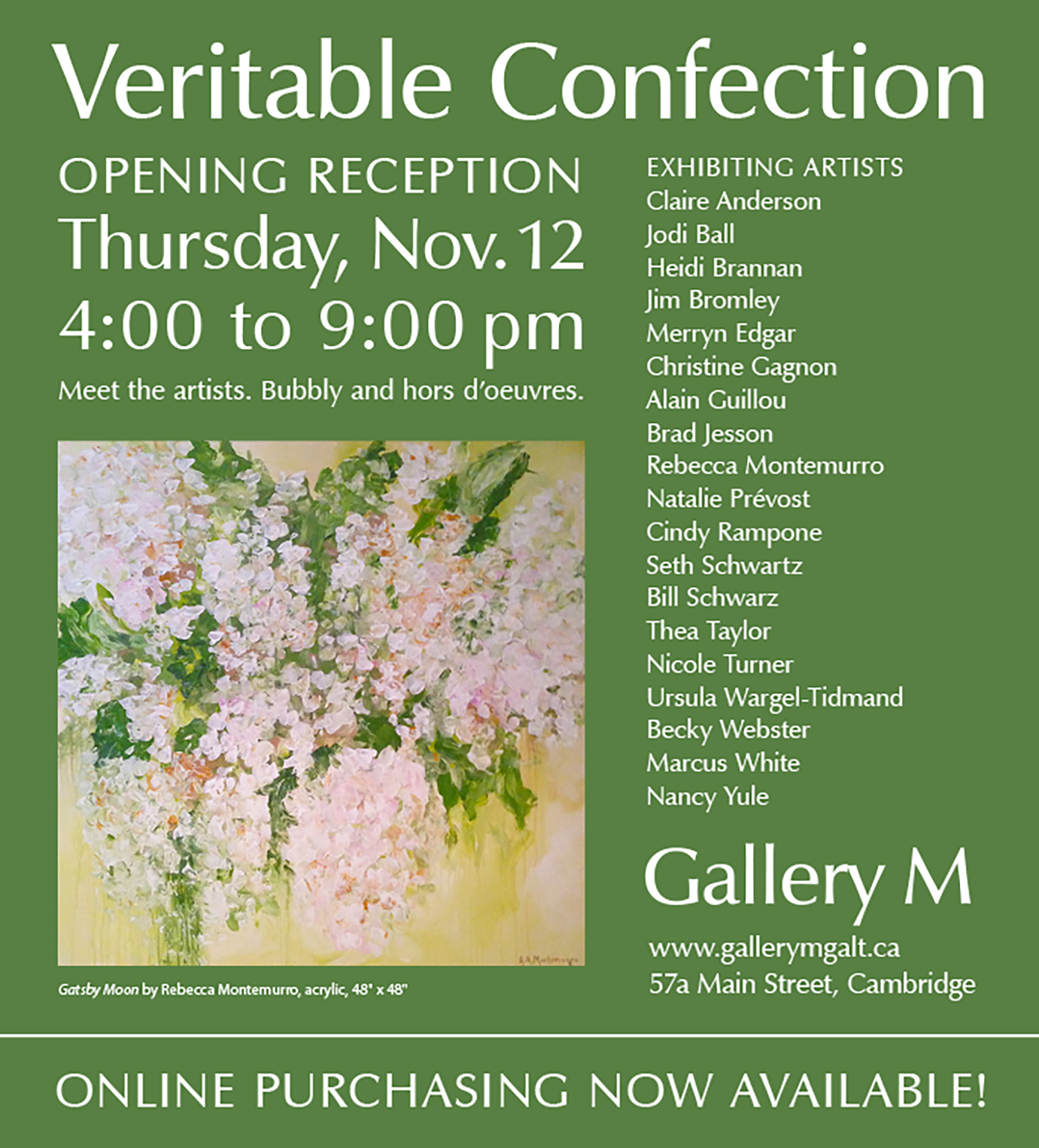 Veritable Confection Show at Gallery M, 2015