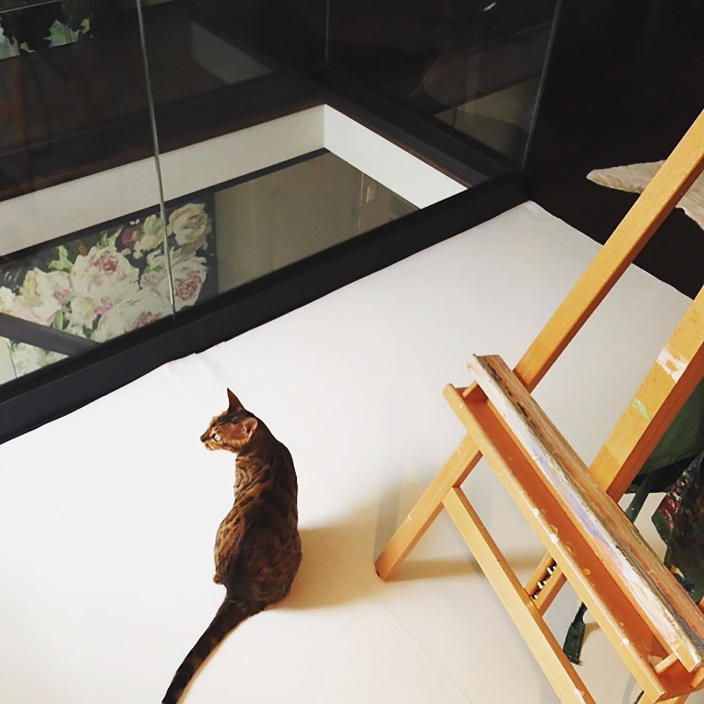 Rosie in the Studio